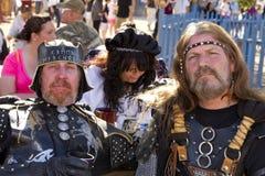 Hombres del festival del renacimiento de Arizona Imagen de archivo