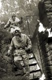 Hombres del fuego Fotografía de archivo libre de regalías