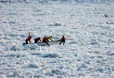 Hombres del hielo fotos de archivo libres de regalías