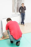 Hombres en el trabajo Fotografía de archivo
