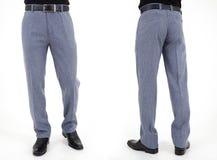 Hombres en pantalones Fotografía de archivo libre de regalías