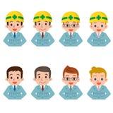 Hombres en ropa de trabajo Foto de archivo