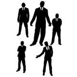 Hombres en trajes stock de ilustración