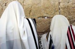 Hombres judíos que ruegan Fotografía de archivo