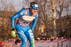 Hombres Milano del sprint de la raza del país cruzado Imágenes de archivo libres de regalías