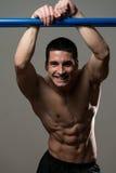 Hombres musculares atractivos Imagenes de archivo