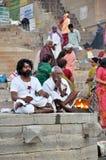 Hombres santos indios Fotos de archivo libres de regalías