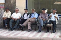 Hombres turcos Fotografía de archivo