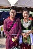 Hombres y mujeres de Hmong Foto de archivo libre de regalías