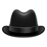 Homburg hat Stock Images