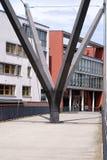 Homburg moderno do mau da ponte pedestre Fotografia de Stock Royalty Free