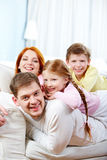 At home Royalty Free Stock Photography