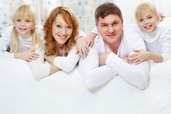 At home Stock Photography