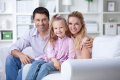 At home Royalty Free Stock Image
