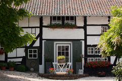 Home. A typical home of the Southern part of the Netherlands Stock Images