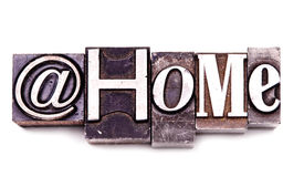 At Home Stock Images