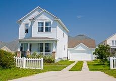 HOME 3 do estilo da casa de campo de Florida Imagens de Stock