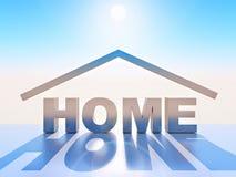 Home Royalty-vrije Stock Afbeelding