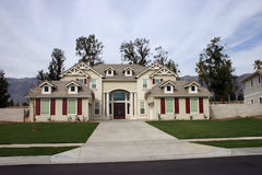 HOME 5 de Califórnia Foto de Stock Royalty Free