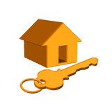 Home. Dream home design like web page home icon Royalty Free Stock Photos