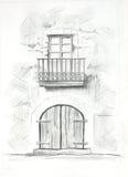 HOME ilustração royalty free