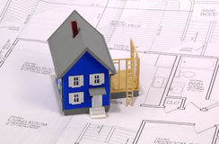 Home Addition stock image