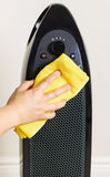 Home Air Purifier Being Cleaned Stock Photography
