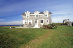 Home along Route 77 in Sakonnet, RI Stock Photography