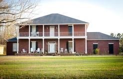 HOME americana: Mansão do Do sul-Estilo Imagem de Stock Royalty Free