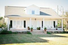 HOME americana suburbana foto de stock royalty free
