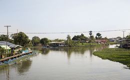 Home andresidence life style of riverside western of Thailand Stock Photography