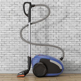 Home Appliance Concept. Modern Vacuum Cleaner. 3d Rendering Stock Image