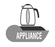 Home appliance design Stock Image