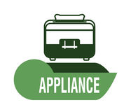 Home appliance design Stock Images