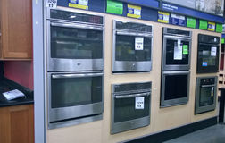 Home appliance at Lowe's Stock Photo