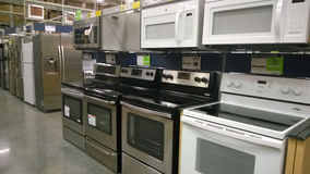 Home appliance at Lowe's Stock Images