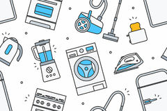 Home Appliance pattern Stock Photography