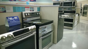 Home appliance selling Royalty Free Stock Images