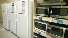 Home appliance selling Stock Photography