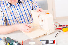 Home appliance service Royalty Free Stock Images