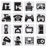 Home appliance set Royalty Free Stock Photos
