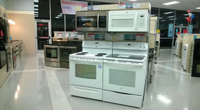 Home appliance store Royalty Free Stock Photography