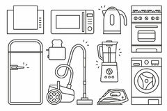 Home Appliance Royalty Free Stock Images