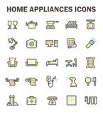 Home appliance icon Royalty Free Stock Image