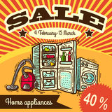 Home appliances Stock Images