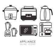 Free Home Appliances Design. Stock Image - 58384071