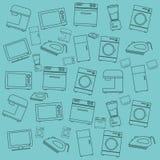 Home appliances design Stock Photos