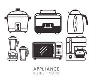 Home appliances design. Stock Image