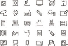 Home Appliances, Electronic Devices & Others Royalty Free Stock Images