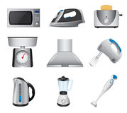 Home appliances Stock Image